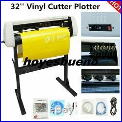 32 Vinyl Cutter Plotter Sign Cutting Machine Decals Sticker Design with Software