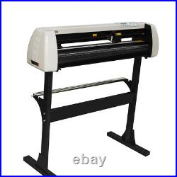 33 Electric Vinyl Cutter Plotter Sign Cutting Making Tool Machine w Software