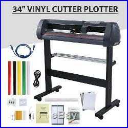 34 87cm Sign Sticker Vinyl Cutter with Software Vinyl Cutting Plotter Machine