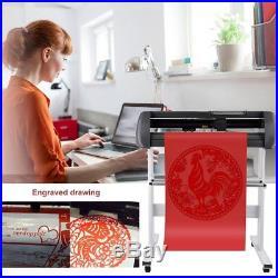 34 Cutter Vinyl Cutter Plotter Sign Cutting Machine + Design/Cut Software HA