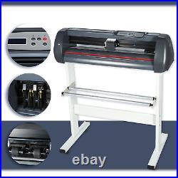 34 Cutter Vinyl Cutter / Plotter Sign Cutting Machine + Software 870mm