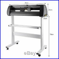 34 Cutter Vinyl Cutter / Plotter Sign Cutting Machine withSoftware + Supplies TO
