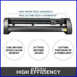 34 Cutter Vinyl Cutter / Plotter, Sign Cutting Machine withSoftware +Supplies USA
