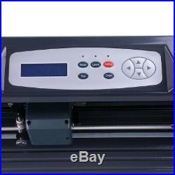 34 Cutter Vinyl Cutter Plotter Sign Cutting Plotter Machine with Software 3Blades