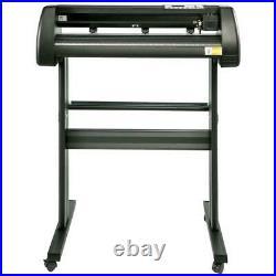 34 Inch Vinyl Cutter Plotter Machine with Stand Signmaster Software