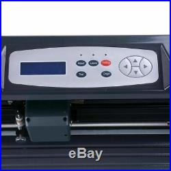 34 LCD Vinyl Cutter Sign Plotter Cutting with Signmaster Basic Software +3 Blades