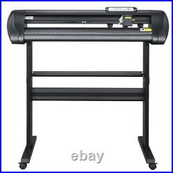 34 Professional Vinyl Cutter Plotter, Sign Cutting Machine withSoftware+Supplies