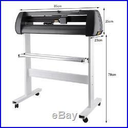 34 Sign Making Kit Vinyl Cutter Professional Supplies Tools Design Cut Software