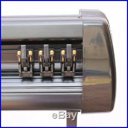 34 US STOCK Cutter Vinyl Cutter Plotter Sign Cutting Machine Software Supplies