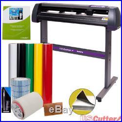 34 USCutter Vinyl Cutter / Plotter Sign Cutting Machine withSoftware + Supplies