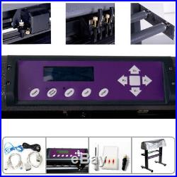 34 USCutter Vinyl Cutter / Plotter, Sign Cutting Machine withSoftware + Supplies