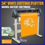34 VINYL CUTTING PLOTTER CUTTER HEAT-TRANSFER ARTCUT SOFTWARE NEWEST DESIGN