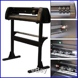 34'' Vinyl Cutter Cutting Plotter Sign Cutting Machine With Artcut 2009 Software
