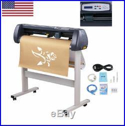 34'' Vinyl Cutter Cutting Sign Plotter Machine with Software Signmaster Cut Basic