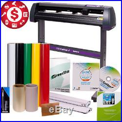34 Vinyl Cutter Machine Best Value Sign with Design Cut Software Plotter Bundle