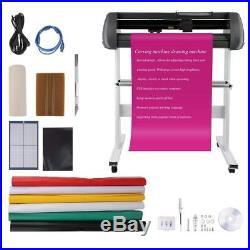 34 Vinyl Cutter Machine Vinly Sign Cutting Plotter Starter Bundle Kit Software