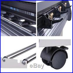34 Vinyl Cutter Plotter Cutting Machine Sign Sticker Making Software 3 Blades