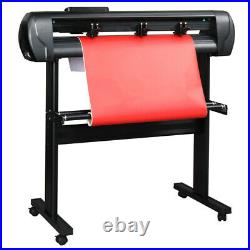 34 Vinyl Cutter Plotter Cutting Sign Machine for Diy Sign WithSoftware & Stand US