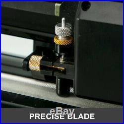 34 Vinyl Cutter Plotter Kit Decals Sign Cutting Machine + Design/Cut Software
