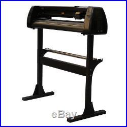 34 Vinyl Cutter Plotter Kit Decals Sign Cutting Machine + Design/Cut Software L