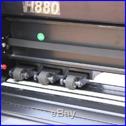 34 Vinyl Cutter Plotter Kit Sign Cutting Printing Machine + Design/Cut Software
