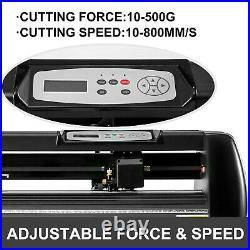 34 Vinyl Cutter / Plotter Sign Cutting Machine 870mm withSoftware + Supplies