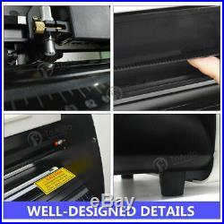 34 Vinyl Cutter Plotter Sign Cutting Machine Decals Sticker Design with Software