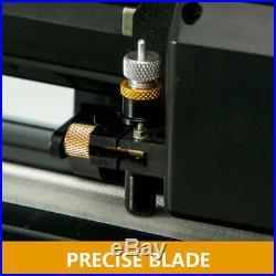 34 Vinyl Cutter Plotter Sign Cutting Machine Decals Sticker Software Supplies