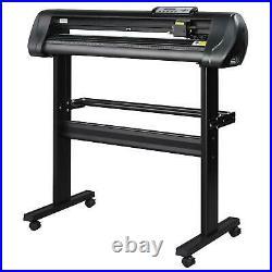 34 Vinyl Cutter Plotter Sign Cutting Machine Vinyl Printer Software + Supplies