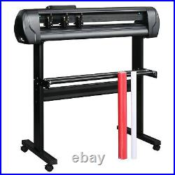 34 Vinyl Cutter / Plotter Sign Cutting Machine with Software +6 Blades LCD screen