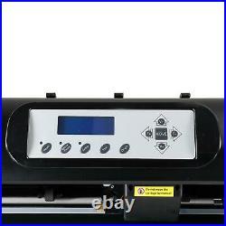 34 Vinyl Cutter / Plotter, Sign Cutting Machine with Software + Supplies