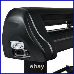 34 Vinyl Cutter / Plotter, Sign Cutting Machine withSoftware+3 Blade & LCD Screen