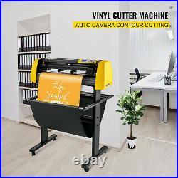 34 Vinyl Cutter/Plotter Sign Cutting Machine withSoftware 3 Blades LCD Screen