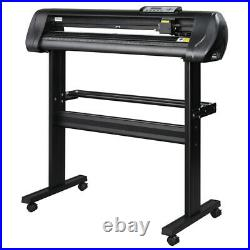34 Vinyl Cutter / Plotter, Sign Cutting Machine withSoftware+3 Blades& LCD Screen