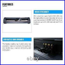 34 Vinyl Cutter / Plotter Sign Cutting Machine withSoftware+3 Blades LCD screen
