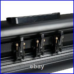 34 Vinyl Cutter / Plotter, Sign Cutting Machine withSoftware+6 Blades&LCD Screen