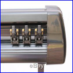 34 Vinyl Cutter / Plotter, Sign Cutting Machine withSoftware + Supplies Stickers