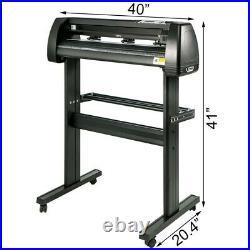 34 Vinyl Cutter / Plotter, Sign Cutting Machine withSoftware +stand + accessories