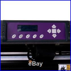34 Vinyl Cutter Sign Cutting Machine Plotter Printing Bundle Kit Cut Software