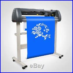 34 Vinyl Cutter Sign Cutting Plotter 3 Blades Printer Sticker Artcut Software