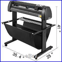 34 Vinyl Cutter / Sign Cutting Plotter with VinylMaster (Design + Cut) Software