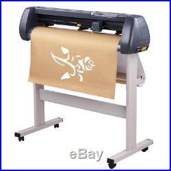 34 Vinyl Cutter Sign Plotter Sticker Cutting with Signmaster Software 3 Blades AL