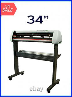34 Vinyl Cutter With Stand With Cutter Software New Wideimagesolutions
