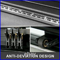 34 Vinyl Cutting Machine Plotter Sign Sticker Cutter WithSoftware 3 Blades LCD