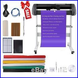 34 Vinyl Cutting Plotter Sticker Machine With Stand Cut Cutter Artcut Software