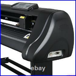 34 inch 870mm Vinyl Cutter Plotter Machine Sign Cutting Printer + Cut Software