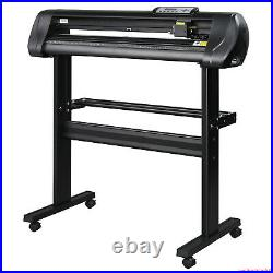 34 inch 870mm Vinyl Cutter Plotter Machine Sign Cutting Printer + Software Stand