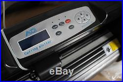 34inch Cutter Plotter for Sticker Decal vinyl PU vinyl Press Craftedge Software