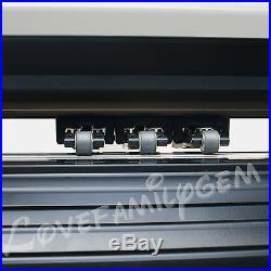 48'' Vinyl Cutter Cutting Plotter Sign Cutting Machine With Artcut2009 Software