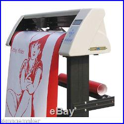 48 Vinyl Sign Sticker Cutter Plotter with Contour Cut Function+Stand+Software